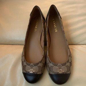 NWOB Coach Chelsea Ballet Flats Size 7